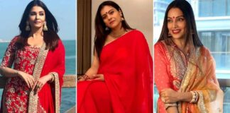 Durga Puja 2021: From Kajol's Stunning Saree To Aishwarya Rai Bachchan's Graceful Suit – Here's How These Bengali Beauties 'Rocked The Red'