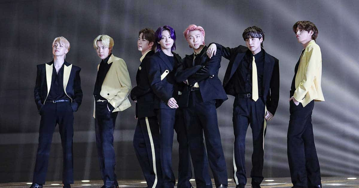 BTS' Message Of Hope During The 'Permission To Dance On Stage' Concert Is Unmissable