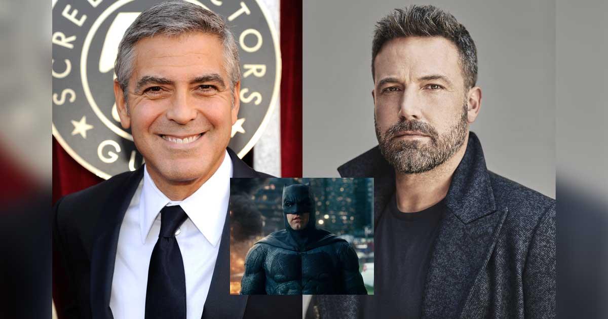 George Clooney Says Ben Affleck Ruined The Batman Franchise