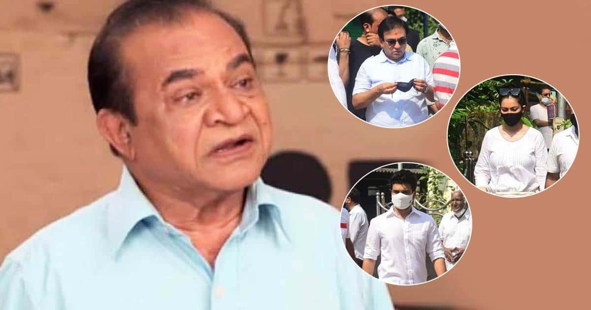 Ghanshyam Nayak Laid To Rest In Mumbai; Bhavya Gandhi, Munmun Dutta & Others Attend Funeral