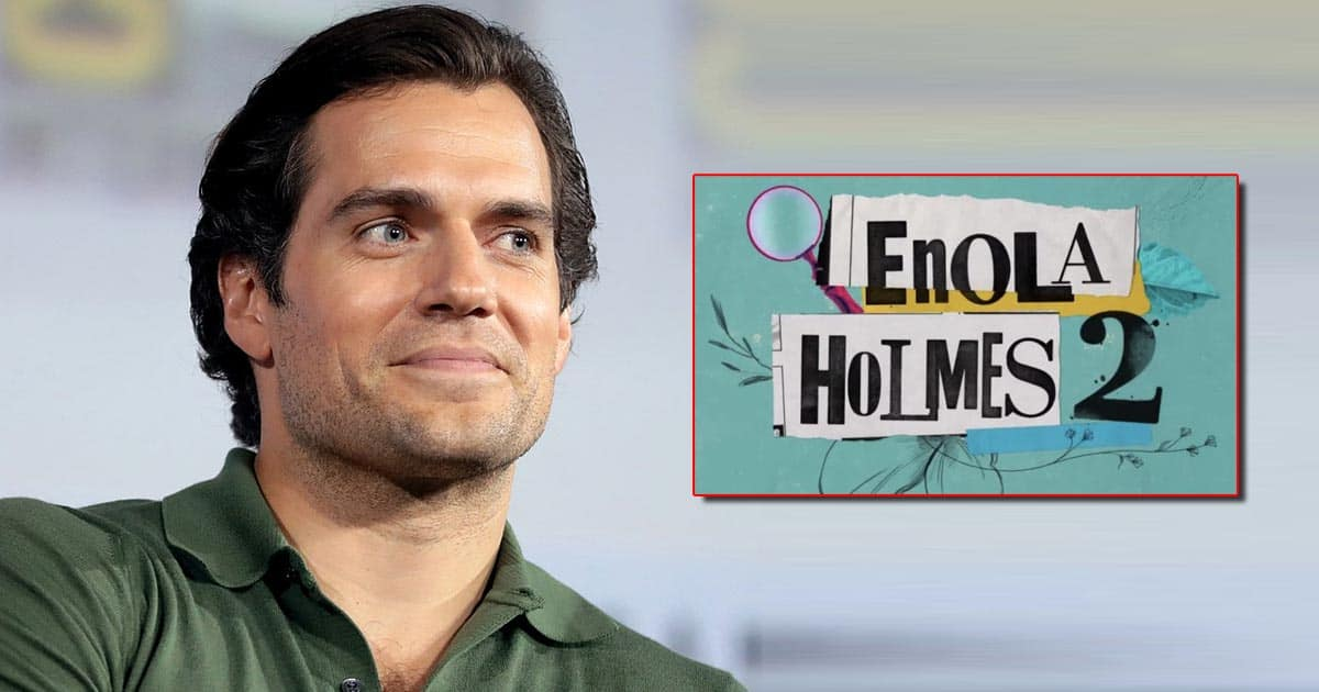 Henry Cavill Looks Dandy In The Wool Coat On The Set Photos Of Enola Holmes 2