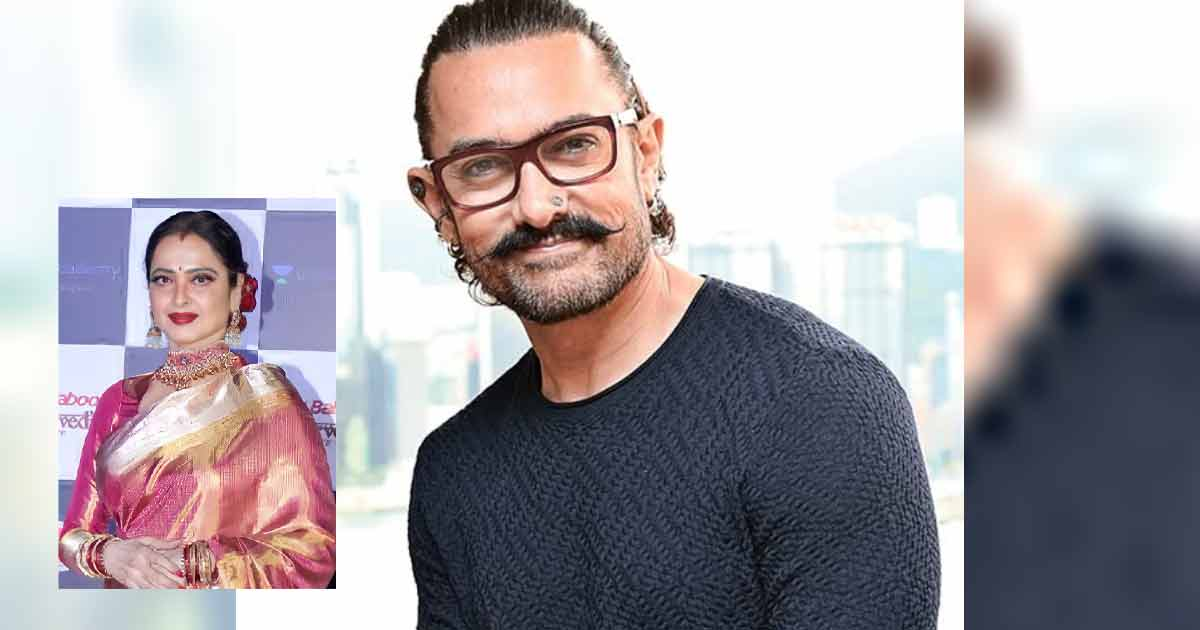 Reason Behind Aamir Khan Never Working With Rekha Revealed In This Shocking Rumour