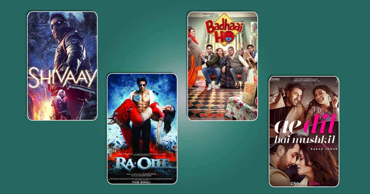 Hrithik Roshan Dominates Highest October Grossers