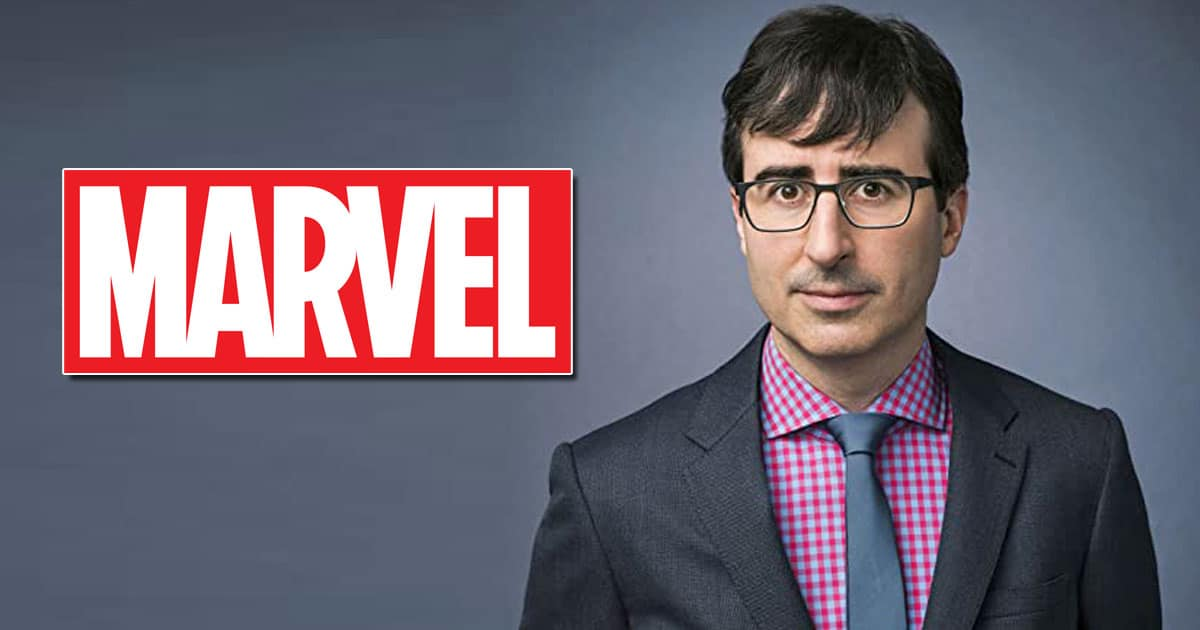John Oliver Jokes About The MCU Movies Lacking Substance In The Latest Episode Of His Talk Show