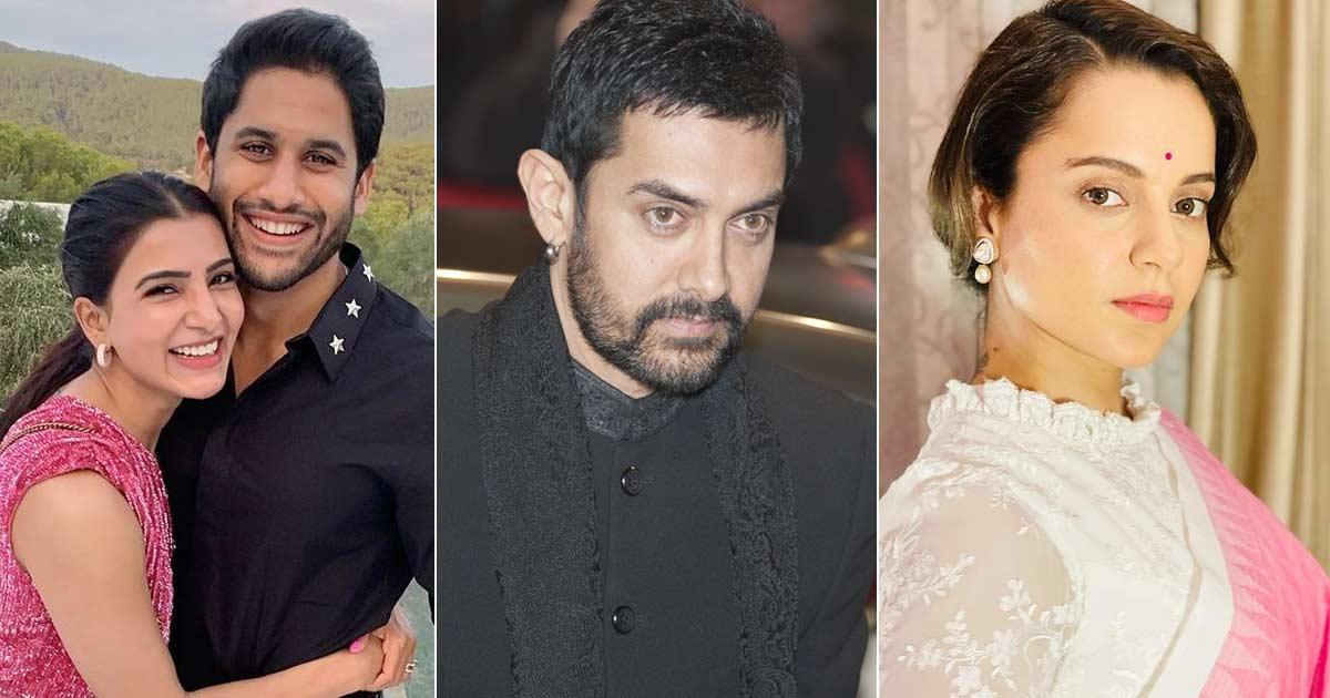 Kangana Ranaut Blames 'Bollywood Divorce Expert' Aamir Khan For Samantha Ruth Prabhu & Naga Chaitanya's Separation