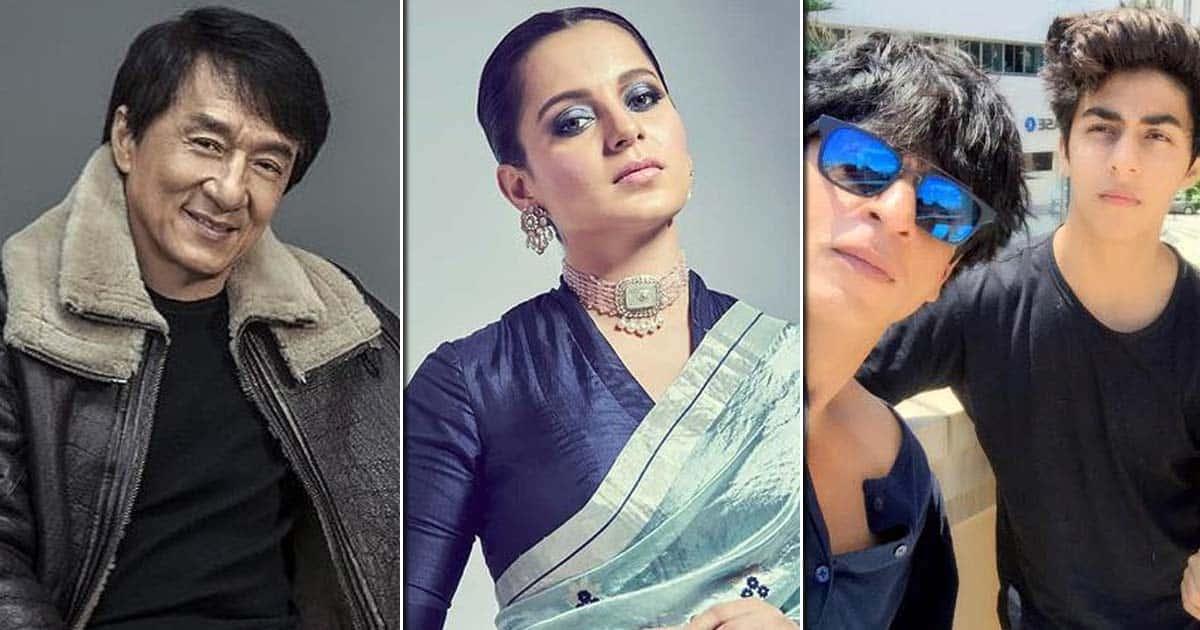 "Kangana Ranaut Takes A Dig At Shah Rukh Khan & Compares Him With Jackie Chan Amid Aryan Khan's Drugs Case: ""He Said 'I'm Ashamed Of Son's Act…'"""