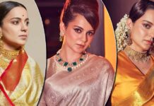 Kangana Ranaut's Extraordinary Saree Collection Would Help You To Be A 'Patakha' That Sets Humans On Fire (With Jealousy) - Deets Inside