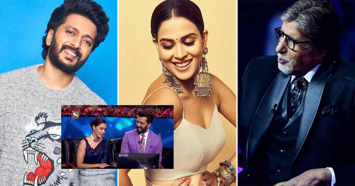 Kaun Banega Crorepati 13: Riteish Deshmukh & Genelia D'Souza To Grace The Amitabh Bachchan-Hosted Show This Friday