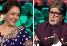 KBC 13: Amitabh Bachchan Asks A 'Janhit Me Jaari' Question To Hema Malini & We Are Sure All Men Can Relate With It!