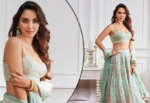 Kiara Advani's Vibrant Aqua-Colour Lehenga Is A Perfect Fit For A Fearless Bride-To-Be Who Wants To Ditch The Usual Red - Pics Inside