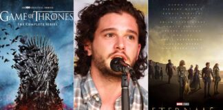 Kit Harington Talks About Game Of Thrones Helping Him Keep Eternals Secrets