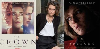 Kristen says 'it was nice' that 'The Crown' existed while preparing for 'Spencer'