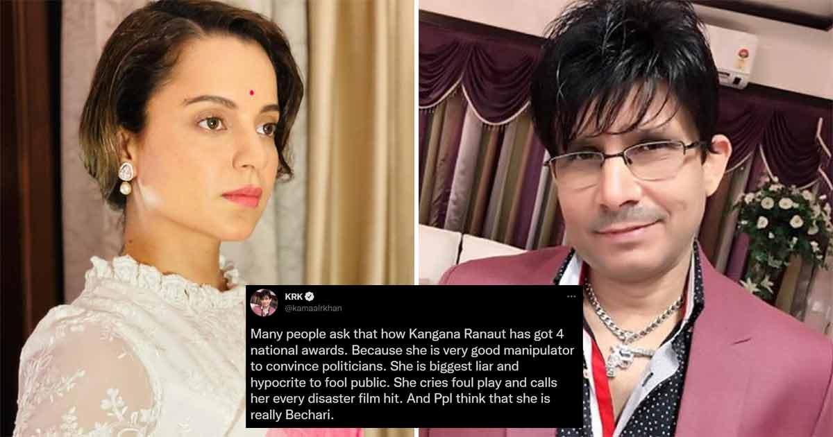 KRK Takes A Jab At Kangana Ranaut Calling