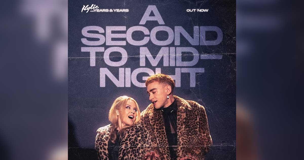 Kylie Minogue Has Comes Up With New Single Titled 'A Second to Midnight'