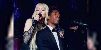 Madonna takes to Harlem street singing 'Like A Prayer'