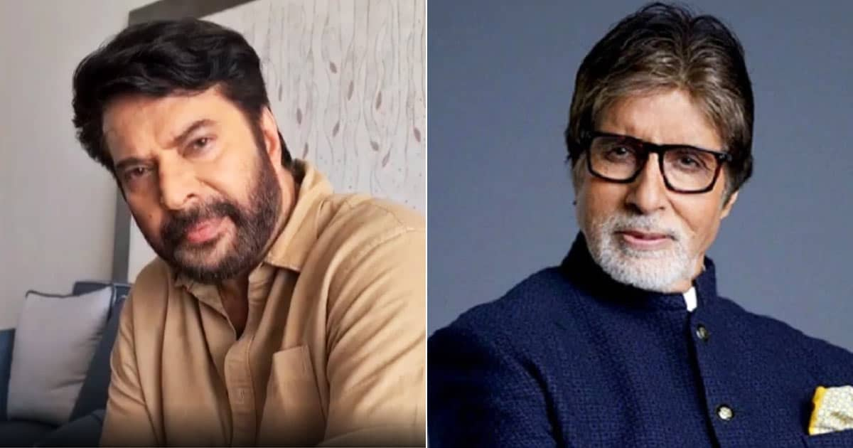 Mammootty Goes Down Memory Lane Sharing An Old Image With Amitabh Bachchan From Their Earlier Days