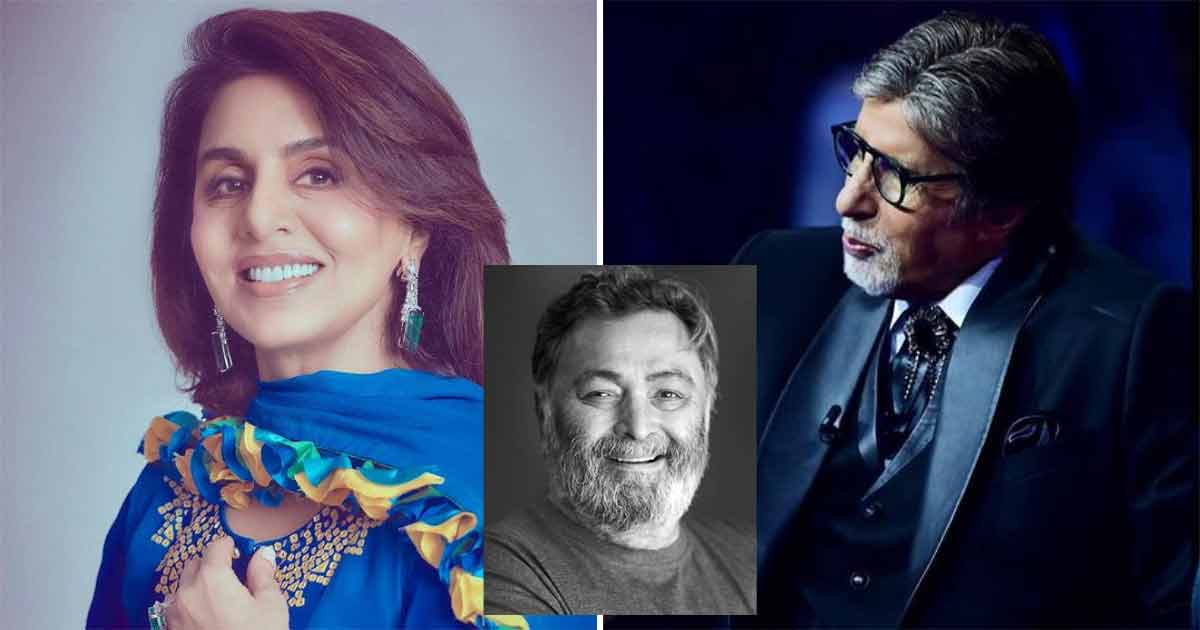 When Amitabh Bachchan Helped Out Newly-Engaged Neetu Kapoor As She Cried On The Sets Of Yaarana