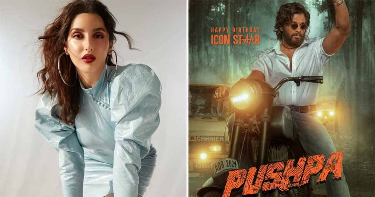 What? Nora Fatehi Asked For A Whopping Amount To Do An Item Number In Allu Arjun's Film Pushpa Part 1?