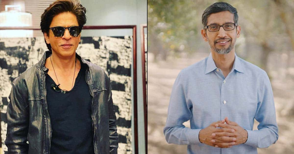 """On Shah Rukh Khan's Global Popularity, Google's CEO Sundar Pichai Once Said, """"People Started To Know Me After My Interview With Him"""" - Read On"""