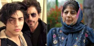 PDP Chief Mehbooba Mufti Reacts To Shah Rukh Khan's Son Aryan Khan Arrest In A Drug Case