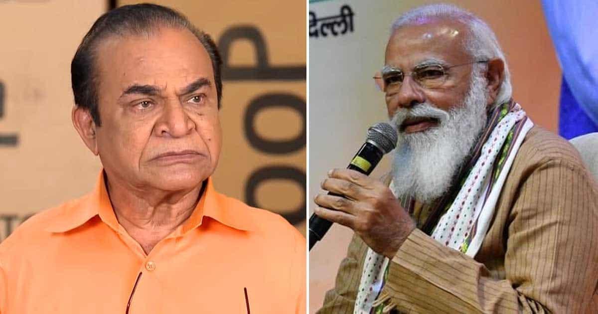 PM Narendra Modi Tributes Taarak Mehta Actor Ghanshyam Nayak