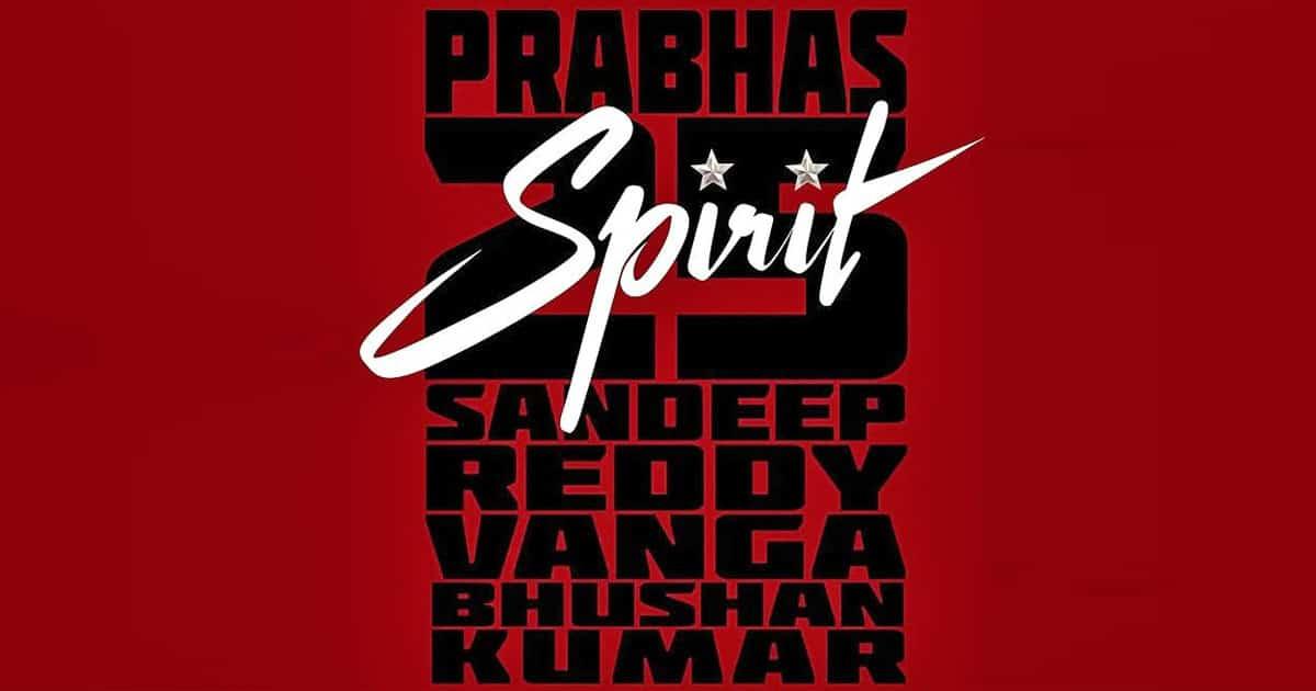 Prabhas Starrer Spirit On How's The Hype