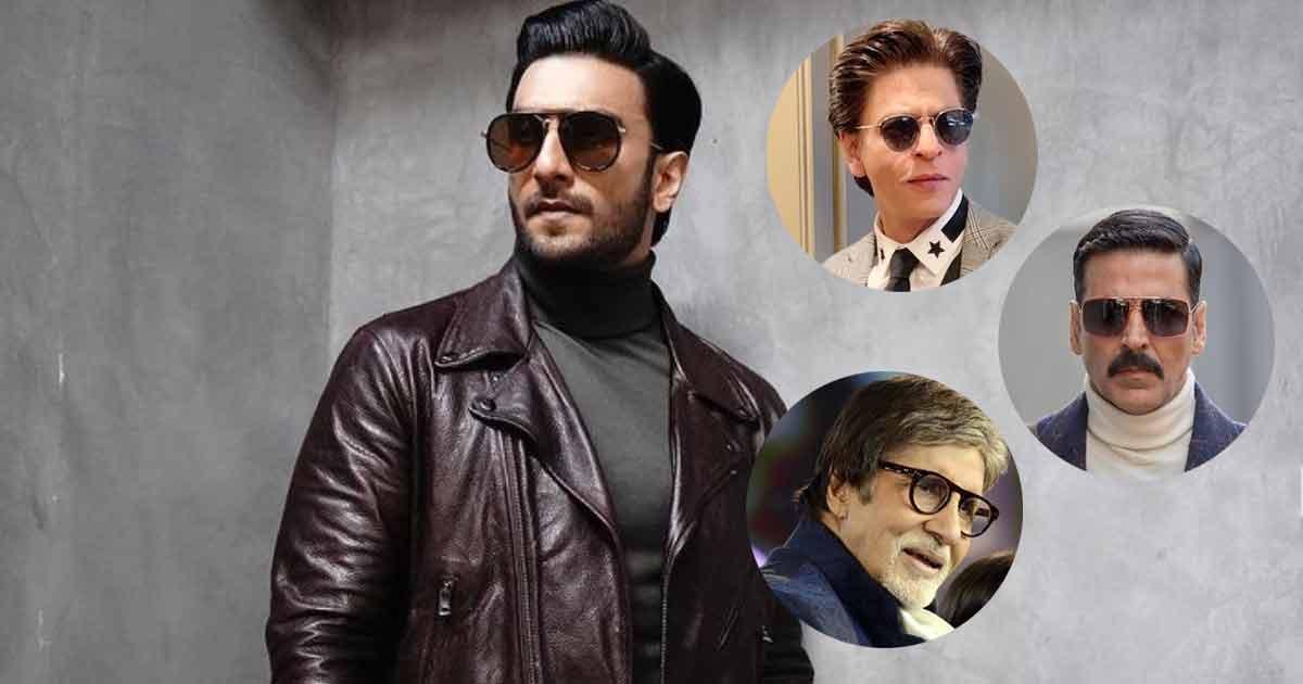 Ranveer Singh: I've Idolised Big B, SRK, Akshay Kumar Since Childhood
