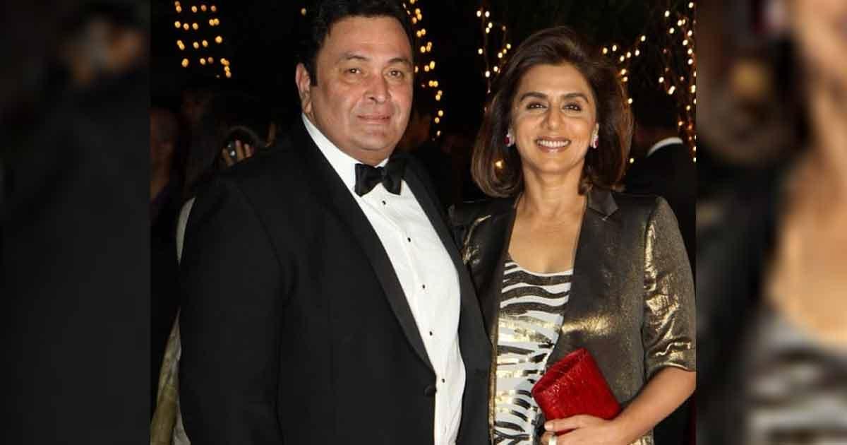 Neetu Kapoor & Rishi Kapoor Were Gifted Stones As Their Wedding Gift