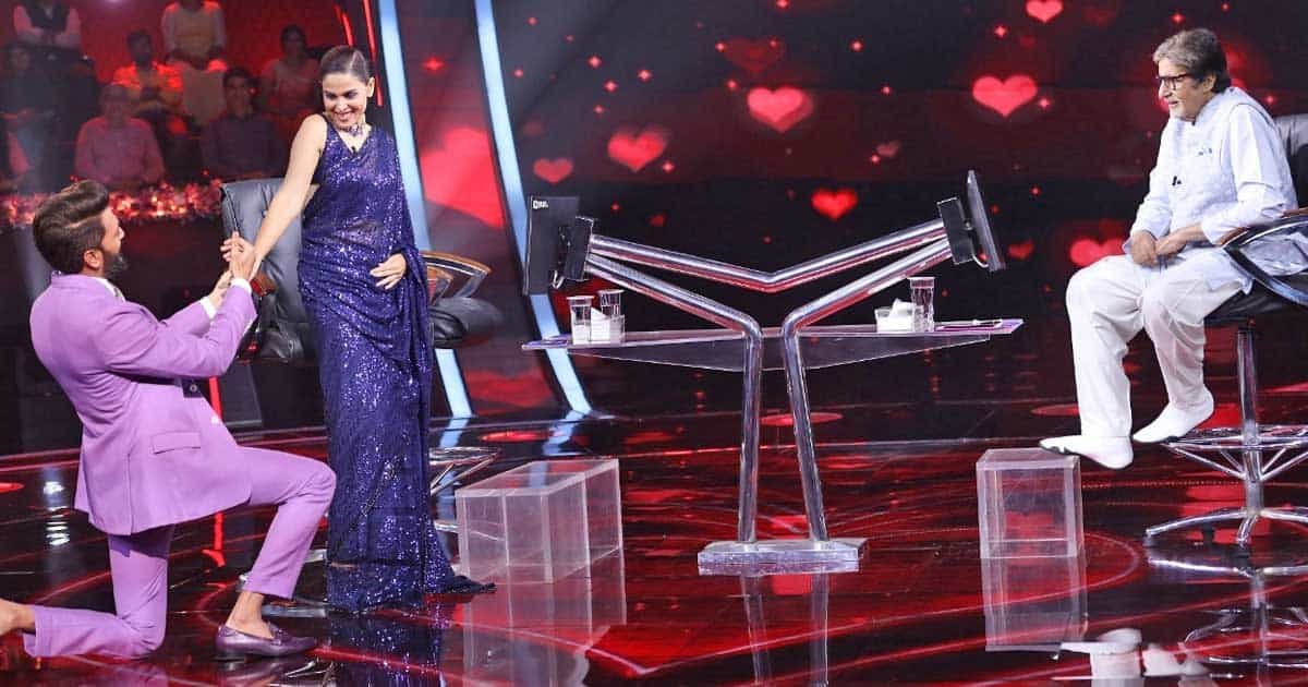 KBC 13: Riteish Deshmukh Proposes Genelia Deshmukh By Going Down On Knees Reciting Amitabh Bachchan's Iconic Dialogues