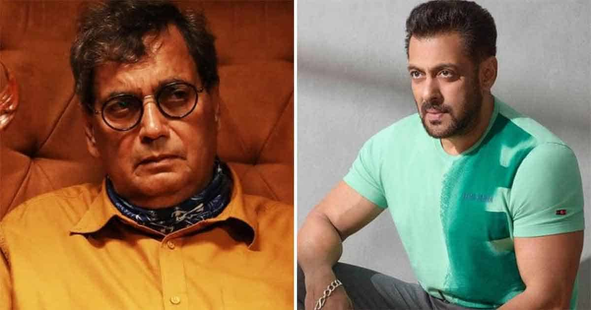 Salman Khan Once Confessed Slapping Subhash Ghai & Apologising To Him