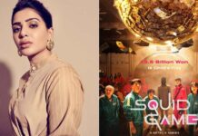 Samantha Enjoys Game Of Tug Of War, Netizen Comments With Squid Game Reference