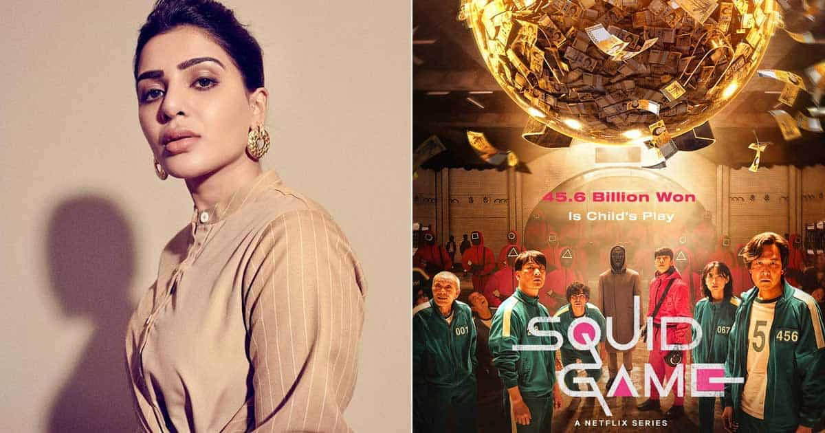 Samantha Indulged In An Intense Tug Of War Reminds Fans Of 'Squid Game'
