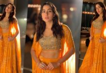 Sara Ali Khan Proves 'Orange Will Always Be Orange'! New Brides, Take Notes For Your First Karwa Chauth Outfit - See Pics Inside