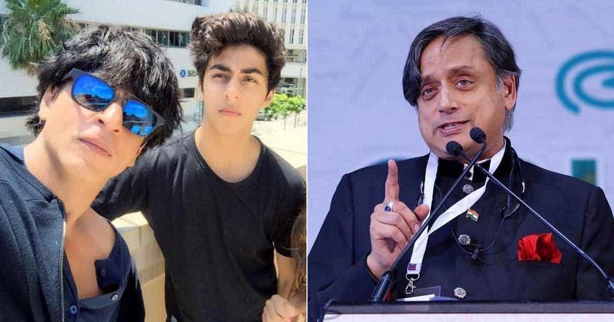 Shashi Tharoor Shows Support To Shah Rukh Khan & Aryan Khan