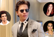 Sonu Sood, Pooja Bhatt & Others React To Shah Rukh Khan Getting Mobbed By Media At Jail