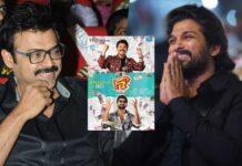'Stylish Star' Allu Arjun catches up with Venkatesh, Varun Tej on 'F3' sets