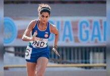 Taapsee Pannu turns a start referee on tracks of 'Rashmi Rocket'