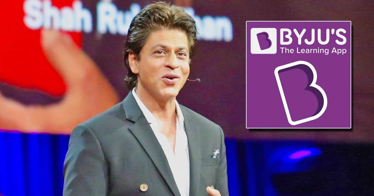 Tech Giant BYJU'S Pauses Ads Association With Shah Rukh Khan Post Aryan's Arrest