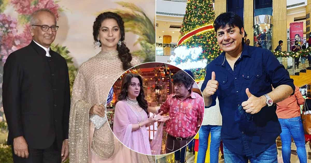 The Kapil Sharma Show: Juhi Chawla Fumbles Before Being Left Stun By Sudesh Lehri As He Mentions Of Her Husband Jay Mehta