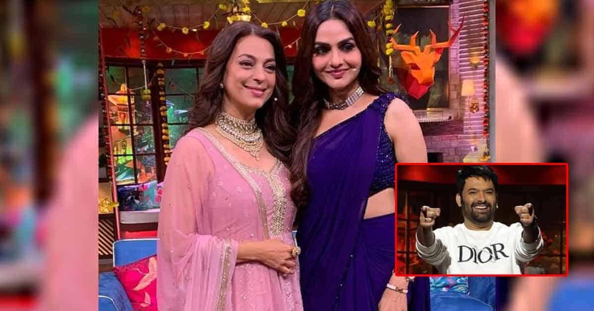 The Kapil Sharma Show: Host Cracks Jokes When Juhi Chawla Reveals Roja Actress Madhoo Is Her Real-Life 'Devrani'