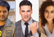 The Kapil Sharma Show: Kapil Pokes Fun At Taapsee Pannu Over Akshay Kumar