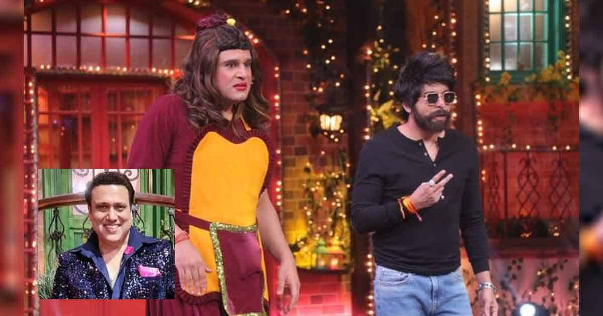 The Kapil Sharma Show: Krushna Abhishek Was Caught Off Guard By Chandan Prabhakar On A Joke About Govinda's Chappal