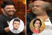 """The Kapil Sharma Show: Sonu Nigam Smiles Away At """"Kangana Ranaut Ne Toh Bahut Kuch Bol Diya"""" Joke By Kiku Sharda"""