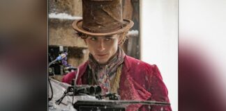 Timothee Chalamet shares his first look as Willy Wonka