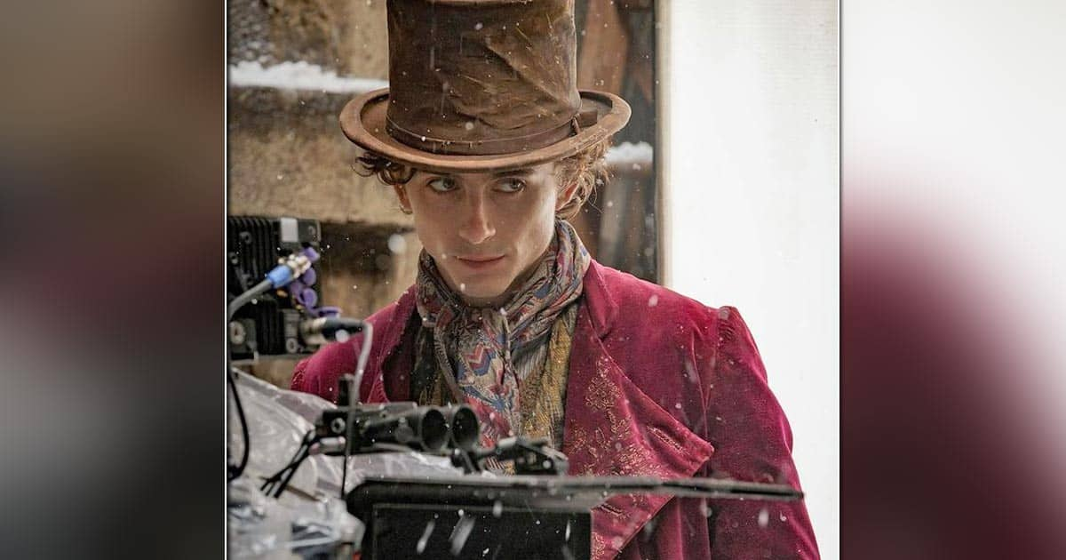Timothée Chalamet Looks Intriguing As He Shares First Pictures Dressed As Willy Wonka