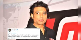 """Uday Chopra Apologizes To Follower Before Quitting Twitter, Says """"Just Be Who You Are, I'm No One'"""