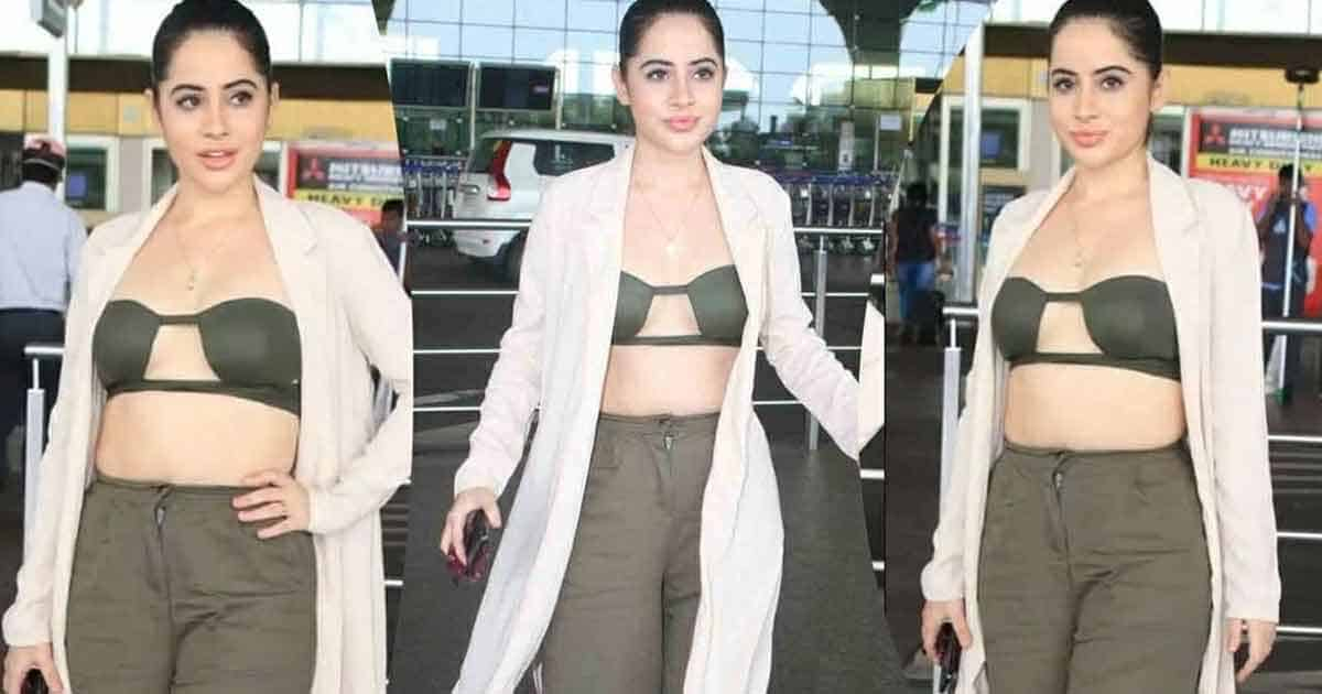 Urfi Javed Gets Trolled Again: Netizens Not Happy With The Way She Appears In Her Recent Airport Look