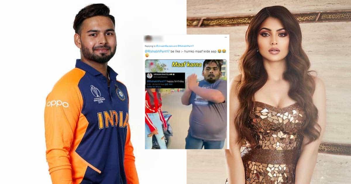 "Urvashi Rautela Trolled For Her Tweet On Rumoured Ex-Boyfriend Rishabh Pant; Netizen Says, ""Please Don't Distract Our Boy"""