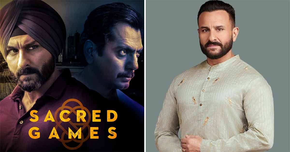 """When Saif Ali Khan Spoke About A Scene From Sacred Games That Was 'Disturbing & Lovely': """"I've Never Seen Anything Like This In International Cinema"""""""
